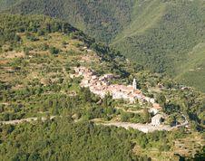 Free Mountain Village, Liguria Stock Image - 6087991
