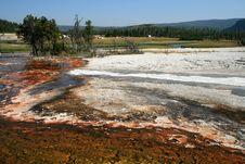 Free Basin In Yellowstone Stock Image - 6089101