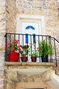 Free Old Stone House In Montenegro - Entrance Door Stock Images - 6099834