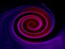 Wormhole Background Royalty Free Stock Image