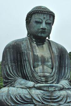Free The Great Buddha Of Kamakura Royalty Free Stock Photography - 6090057