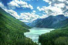 Free Bluse Lake Stock Image - 6090071