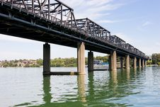 Free Iron Cove Bridge Royalty Free Stock Photo - 6090225