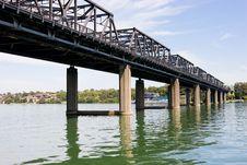 Free Iron Cove Bridge Royalty Free Stock Photo - 6090225