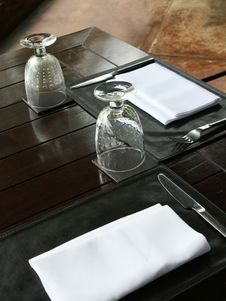 Free Table Setting Royalty Free Stock Photography - 6090317