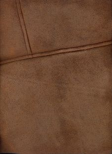 Free Brown Leather Texture Royalty Free Stock Image - 6090466