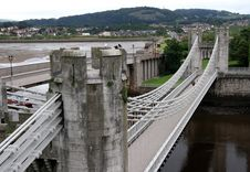Free Conwy Bridge Stock Photo - 6090720