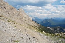 Free Mountains Top Royalty Free Stock Image - 6090866