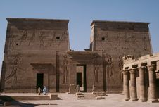 Free Temple Of Philae Royalty Free Stock Image - 6091036