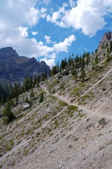 Free Hiking In Rocky Mountains Royalty Free Stock Photos - 6091148