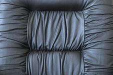 Free Black Leather Armchair Stock Photography - 6091152