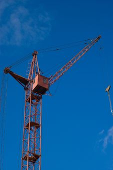 Free Tower Crane Royalty Free Stock Photo - 6091165