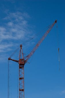 Free Tower Crane Stock Photos - 6091193