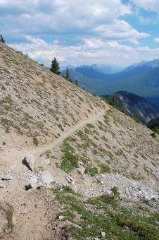 Free Steep Hiking Trail Stock Image - 6091231