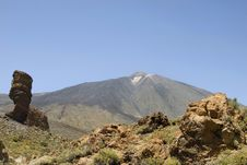 Free Mighty Teide Royalty Free Stock Photography - 6091737