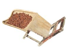 Aniseed, Dustpan And Stool Stock Images