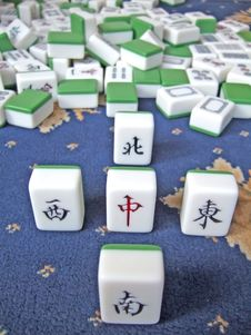 Free Mahjong Stock Images - 6092164