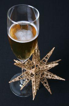 Free Star Sparkling Wine Royalty Free Stock Image - 6092456