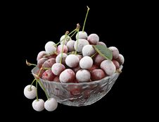Free Berries Of A Cherry Stock Images - 6092714