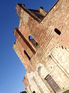 Free Facade Of San Galgano Abbey Stock Photography - 6093102