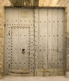 Free Old Door Royalty Free Stock Image - 6093116