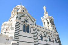 Free Notre-Dame De La Garde, Marseille Stock Image - 6093561