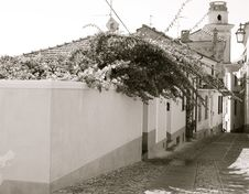 Diano Castello Royalty Free Stock Photography