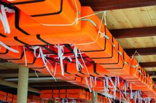 Life Rafts Stock Image