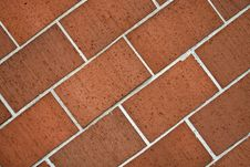 Free Diagonal Brick Structure Stock Photography - 6093852