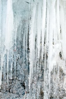 Free Framework From Icicles Stock Photo - 6094180