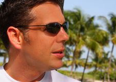Free Man In Shades Stock Image - 6094721