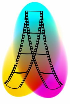 Free Film(CMYK) Stock Image - 6094761