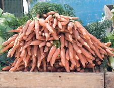 Free Carrots Close Up Royalty Free Stock Photo - 6095125