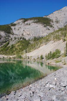 Free Alpine Lake Royalty Free Stock Images - 6095349