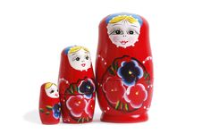 Free Russian Nesting Dolls Royalty Free Stock Images - 6095809