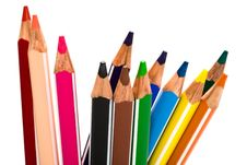 Free Beautiful Color Pencils Stock Images - 6095974