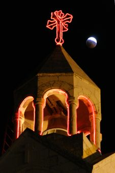 Free Lunar Behind Nativity Church In Bethlehem Stock Photo - 6096140