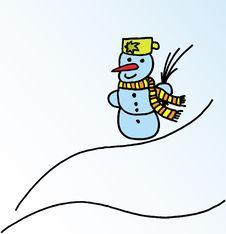 Free Snowman Stock Photo - 6096150
