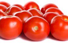 Free Close-up Many Tomatoes Stock Photography - 6096472