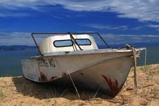 Broken Boat Stock Images