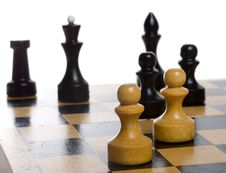 Free Game Of Chess Royalty Free Stock Images - 6096509