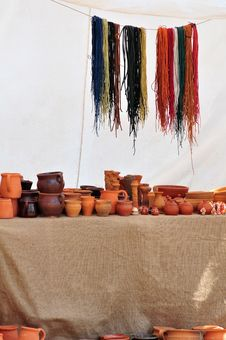 Free Stand With  Ceramics Stock Images - 6096614