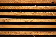 Fir Planks Royalty Free Stock Photography