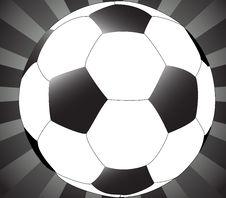 Free Football And Sunburst Royalty Free Stock Images - 6097179