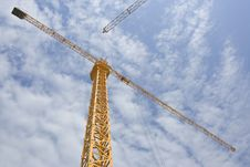Free Crane In Sky Stock Images - 6097524