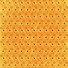 Free Yellow Retro Spots Background Royalty Free Stock Photos - 6097628