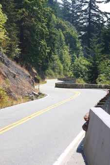 Free Hillside Winding Road Stock Photo - 6098000