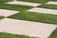Free Grass And Stone Pattern Royalty Free Stock Photos - 6098468