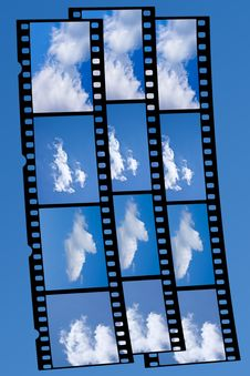 Free Film(Eye In The Sky) Stock Photo - 6098570