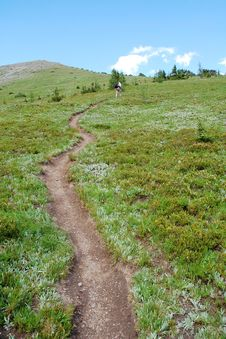 Free Steep Hiking Trail Stock Photography - 6098812